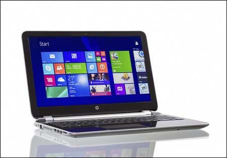 Windows Kacheln Laptop